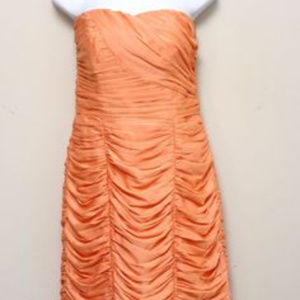 Peach Cocktail Dress Sz 10